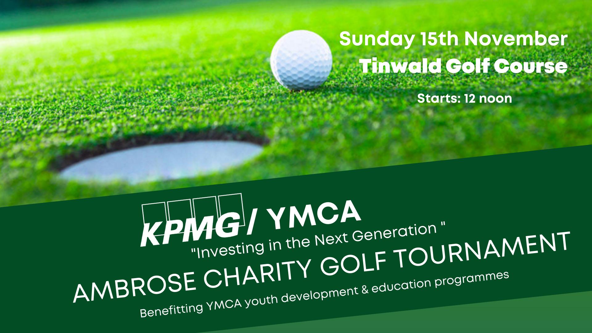 "KPMG / YMCA ""Investing in the Next Generation"" Charity Ashburton Golf Tournament"
